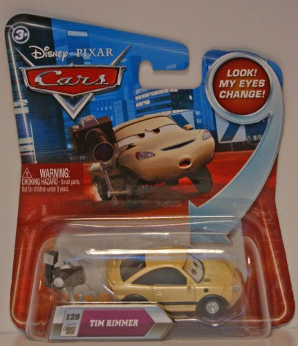 Disney/Pixar Cars Lenticular Eyes Series 2 Tim Rimmer #129 1:55 Scale