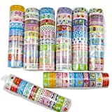 10 Rolls Lovely Decorative Cartoon Tape Scrapbooking Adhesive Paper Sticker
