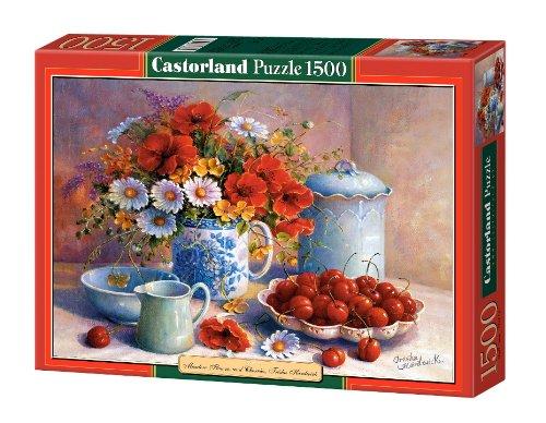 Jigsaw-Puzzle-1500-Pieces-Trisha-Hardwick-Meadow-Flowers-and-Cherries