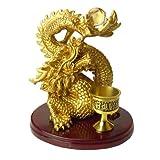 ◆風水の五本指皇帝龍◆≪寿山石≫皇帝願い龍※特典※龍に水をあげる水盃付き