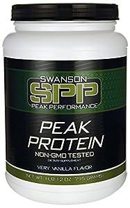 Peak Protein Non-Gmo Very Vanilla Flavor 1 lb 12 oz (795 grams) Pwdr