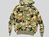 Denver Broncos Licensed NFL Green Camo Quilted Hooded Jacket Men M at Amazon.com