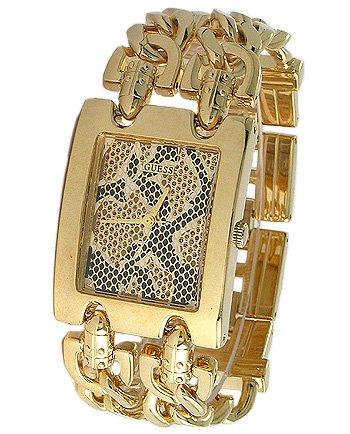 Guess U12554L1 - Orologio da polso da donna, cinturino in acciaio inox colore oro