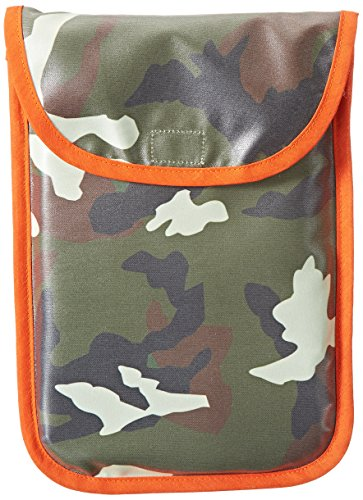 AM PM Kids! Diaper Clutch, Orange Camo - 1