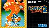 Sonic The Hedgehog 2 (Multi-Language) Genesis Instruction Booklet (SEGA GENESIS MANUAL ONLY - NO GAME) Pamphlet - NO GAME INCLUDED