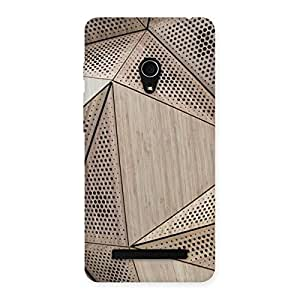 Doted Triangel Print Back Case Cover for Zenfone 5