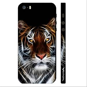 Enthopia Designer Hardshell Case ELECTRIFYING TIGER Back Cover for Apple Iphone 5,5s,SE