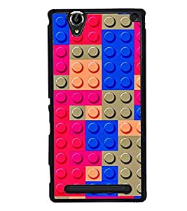 PRINTVISA Abstract Colourful Pattern Case Cover for Sony Xperia T2 Ultra::Sony Xperia T2 Ultra Dual