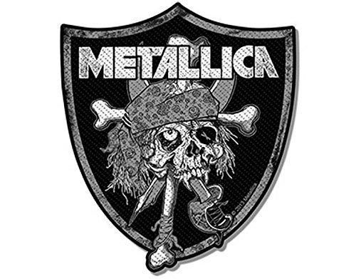 Metallica - Raider's Skull - Toppa/Patch