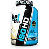 BPI Sports ISO HD Whey Protein Isolate and Hydrolysate, Banana Cream Pie, 4.9 Pound