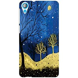 Back Cover For HTC Desire 820Q -(Printland)