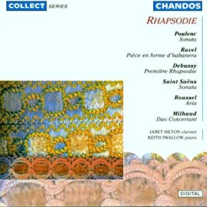 Rapsodie - French Music for Clarinet and Piano from Collect