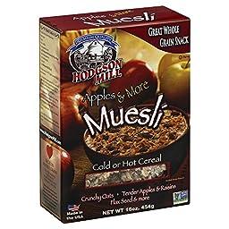 Hodgson Mill Apples & More Muesli 16.0 OZ(Pack of 2)