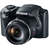 Canon PowerShot SX510 HS 12.1 MP CMOS Digital Camera with 30x Optical Zoom and 1080p Full-HD Video (DISCONTINUED)