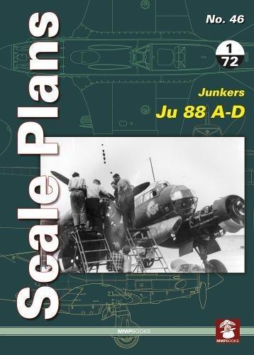 Junkers Ju 88 A-D (Scale Plans) [Noszczak, Maciej] (Tapa Blanda)