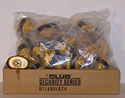 24 Pack Keyed Alike Club Brand Gun Trigger Locks