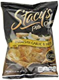 Stacy's Pita Chips, Parmesan Garlic & Herb, 1.5-Ounce Bags (Pack of 24)