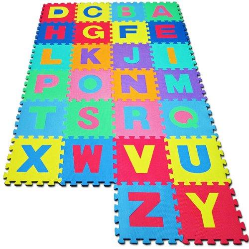 Puzzle enfant en bas ge en mousse 86 pi ces alphabet chiffre tapis your 1 - Tapis mousse alphabet ...