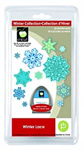 Provo Craft Cricut Winter Lace Mini Shape Cartridge Limited Edition