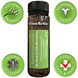 TreeActiv+ Tea Tree Oil Acne Solution for Advanced Acne Treatment - All Natural Acne Spot Treatment - Blemishes Gone or Your Money Back!