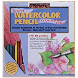 General Pencil Learn Watercolor Pencil Techniques Now Kit