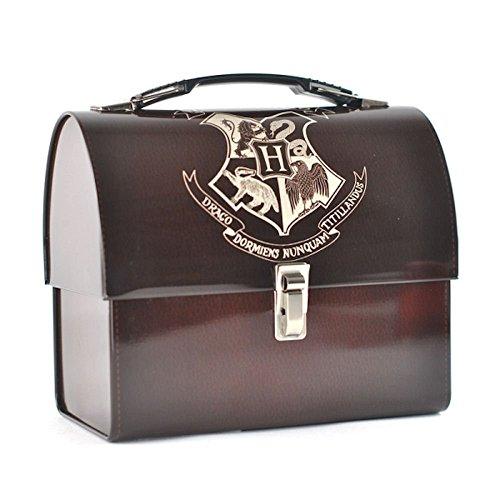 HARRY POTTER Lunch Box in METALLO Porta Merenda HOGWARTS