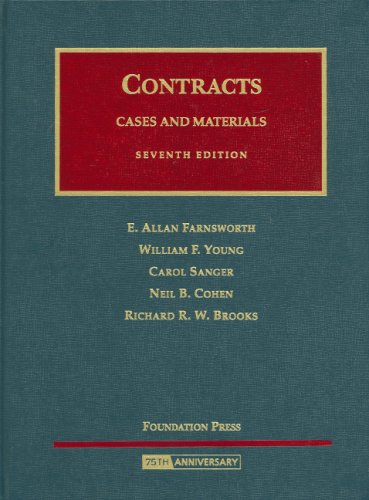 Cases and Materials on Contracts (University Casebook) PDF