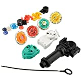 {Factory Direct Sale} Hot New Metal Rare 4D Spinning Top Rapidity Fusion Fight Masters Launcher Beyblade Set Toys For Kids Children Gifts