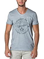 CANADIAN PEAK Camiseta Manga Corta Jalorie (Gris Claro)
