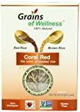 Grains of Wellness Rice Blend, Coral Red, 16 Ounce (Pack of 12)