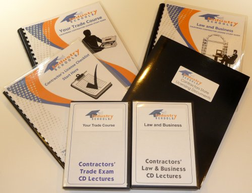 Contractors License Kit C32 - Parking And Highway Improvement For California W/Law & Business And Practice Exam Software, (Kit Includes; Instructors On Cds, Study Manuals, Practice Exam Software, Licensing Checklist, State Application Documents, Live Cust