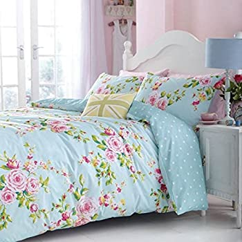 Canterbury Floral Vintage polycotton Double Duvet Set in Multi