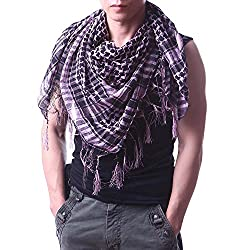 Anuze Fashions New Styles Scarves Arab Shemagh Arafat Scarf For Men's