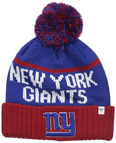 Nfl new york giants 39 47 linesman cuff knit beanie with pom for True frequency jewelry reviews