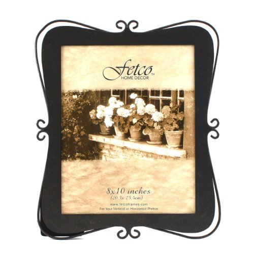 Fetco Home Decor Albee Picture Frame, 8 By 10-Inch