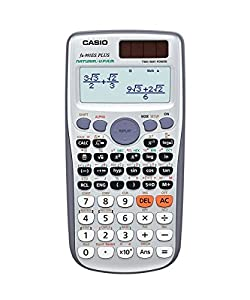 Casio FX-991 ES PLUS Wissenschaftlicher Taschenrechner  - UK Version, engl. Bedienungsanleitung