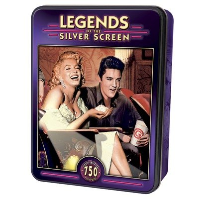 Classic Interlude 750 pc Legends Silver Screen Tin