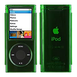 Speck iPod Nano 4G See Thru Case- Green