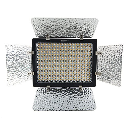 Yongnuo Yn300-Ii Studio Photography Led Camera Video Light Lamp Bulbs Panel Set Kit Equipment
