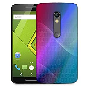 Snoogg Abstract Multiolor Wall Designer Protective Phone Back Case Cover For Motorola Moto X Play