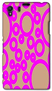Timpax protective Armor Hard Bumper Back Case Cover. Multicolor printed on 3 Dimensional case with latest & finest graphic design art. Compatible with Sony L39H - Sony 39 Design No : TDZ-23432