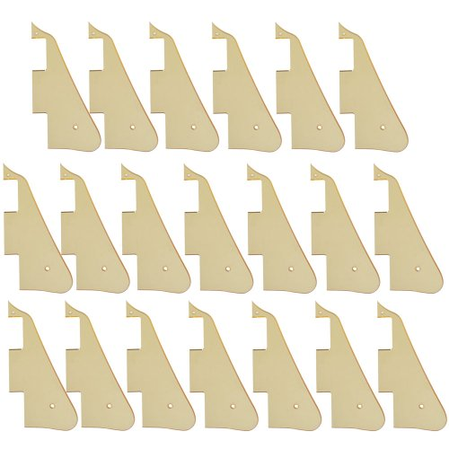 20Pcs High Quality Gold Mirror Electric Guitar Pickguard For Gibson Les Paul Guitar Replacement