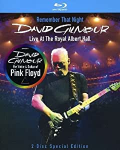 David Gilmour - Remember That Night/Live At The Royal Albert Hall [Blu-ray] [Special Edition]