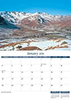 Lake District 2016 Wall Calendar - Salmon Calendars Year Planner