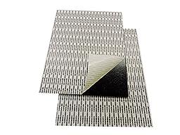 Self-Stick Adhesive Foam Board Black 11\