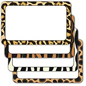 Animal prints - Assorted Adhesive Labels