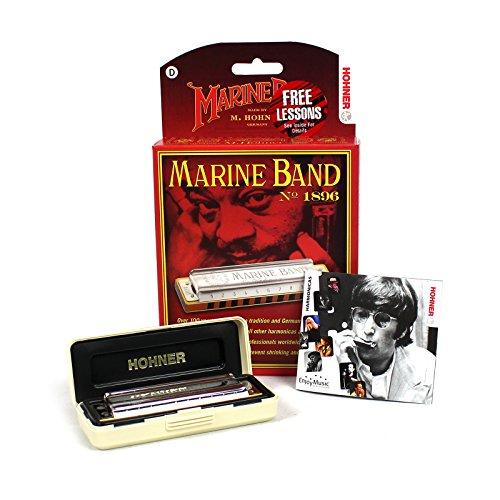 Hohner 1896Bx-D Marine Band, Key Of D Major