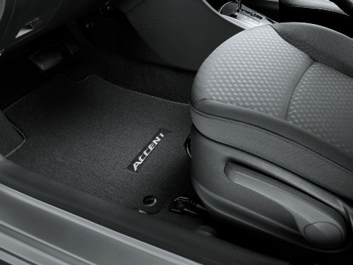Genuine 2012 Hyundai Accent Carpet Floor Mats Black