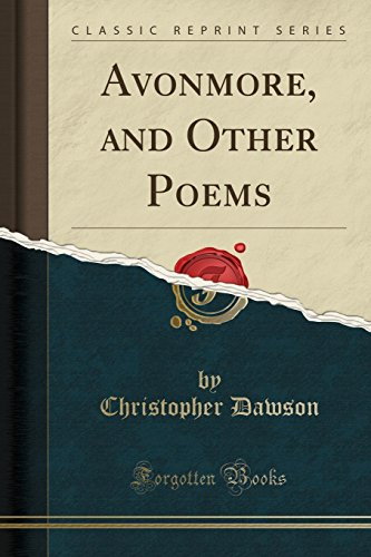 avonmore-and-other-poems-classic-reprint