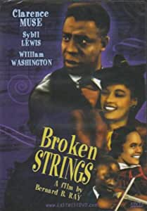 amazoncom broken strings clarence muse sybil lewis